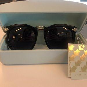 Black Super Lunar Karen Walker sunglasses